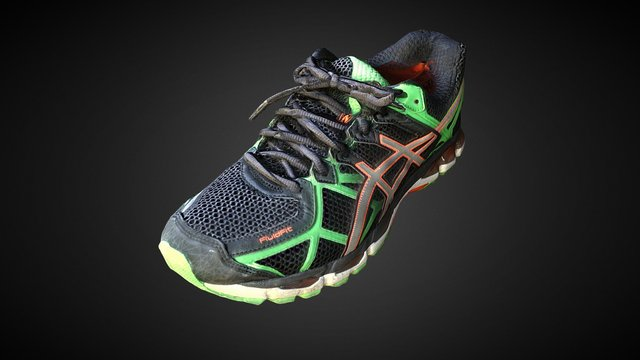 sports shoes-all-mask-high 3D Model