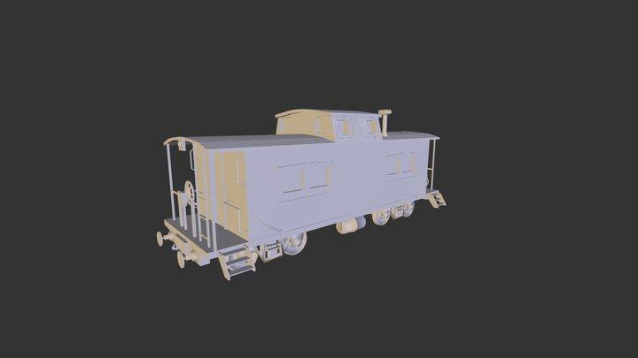 Caboose 3D Model