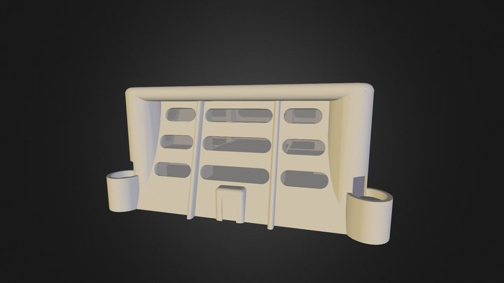 Apartment#1 completed 3D Model