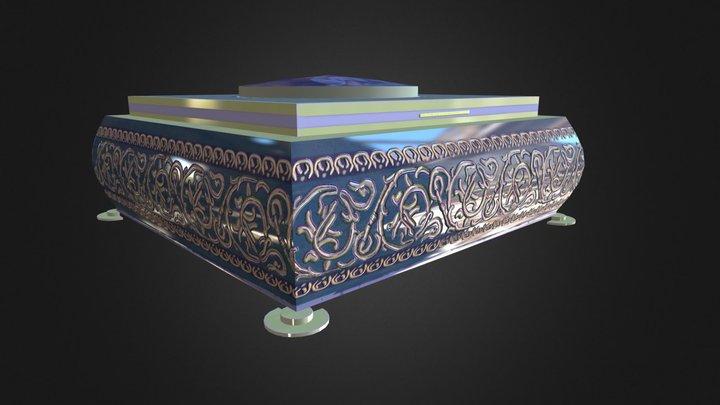 Antique Box 3D Model