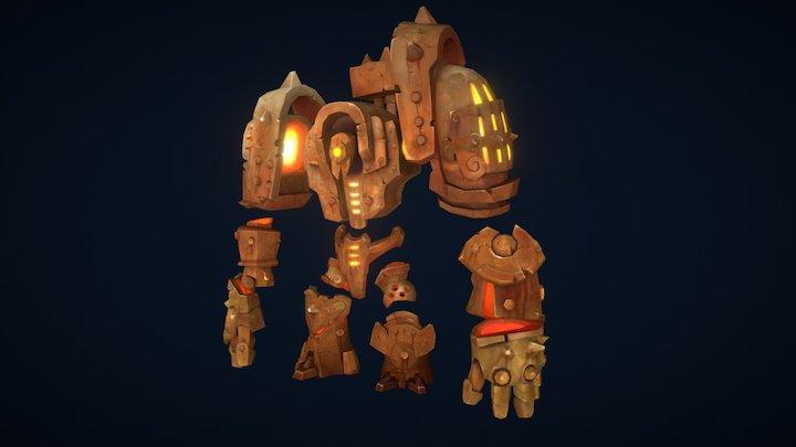 Construct - Darksiders 2 3D Model