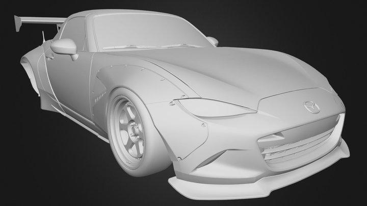 Mazda MX-5 Pandem 3D Model