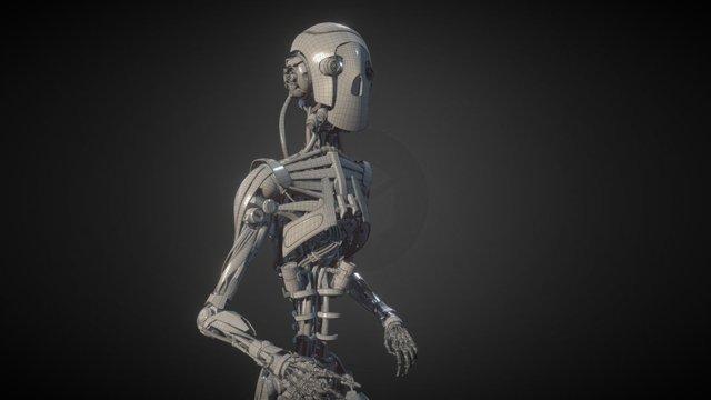 Clint Character WIP 3D Model