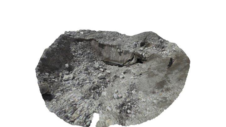 Khumbu Glacier ice cliffs (G) 3D Model
