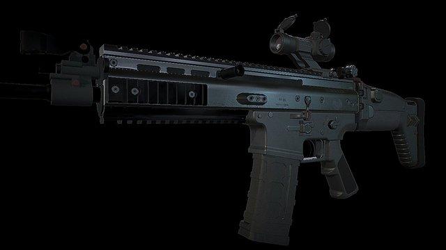 Scar 16 3D Model