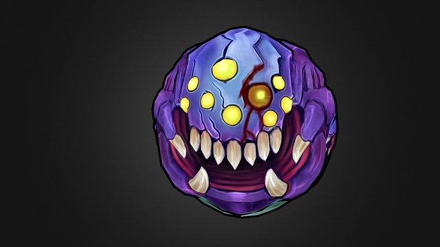 Baron Nashor Ball Edition 3D Model