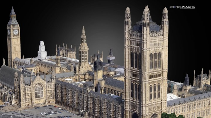 Big Ben Westminster - London 3D Model