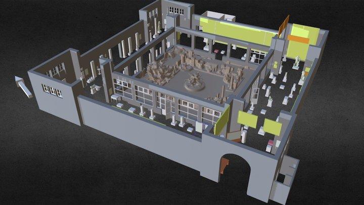 Musée National de Cherchell - Concept 3D Model