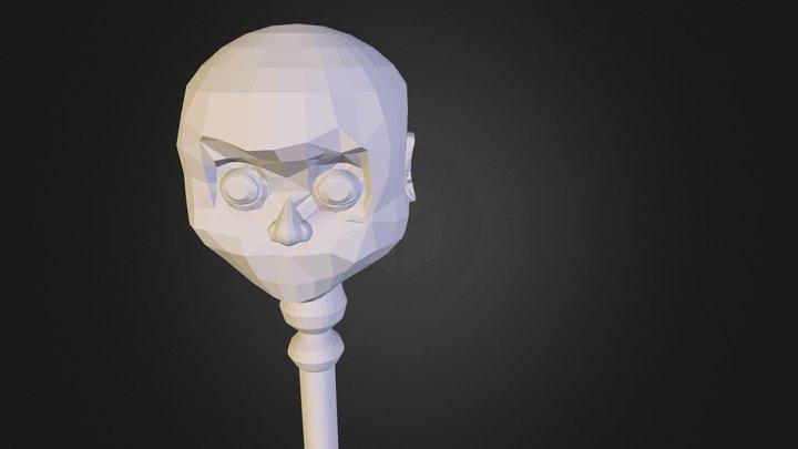 No Light For Sketchfabb Baby Key 3D Model
