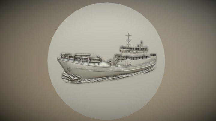Barco Capitan Williams 3D Model