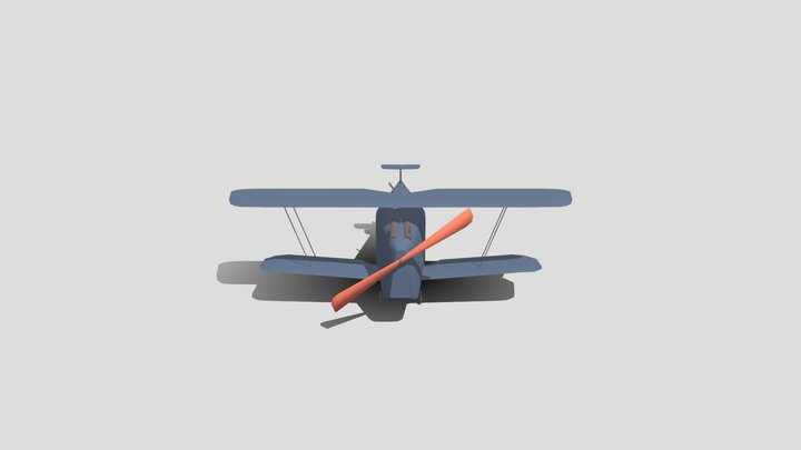Hannover CL.ii - Stylized 3D Model