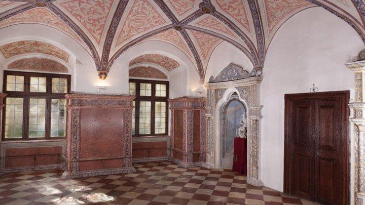 Rotmarmor-Zimmer Neuburg am Inn 3D Model