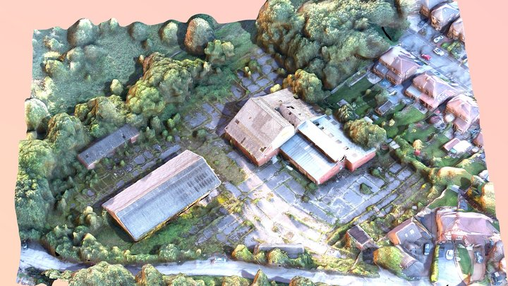 Warehouse TEXTURE 3D Model