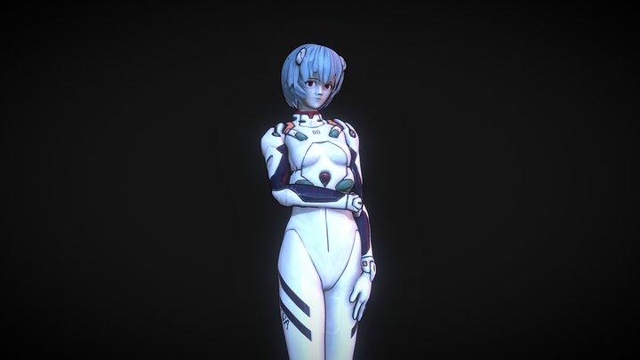 Neon Genesis Evangelion - Rei 3D Model