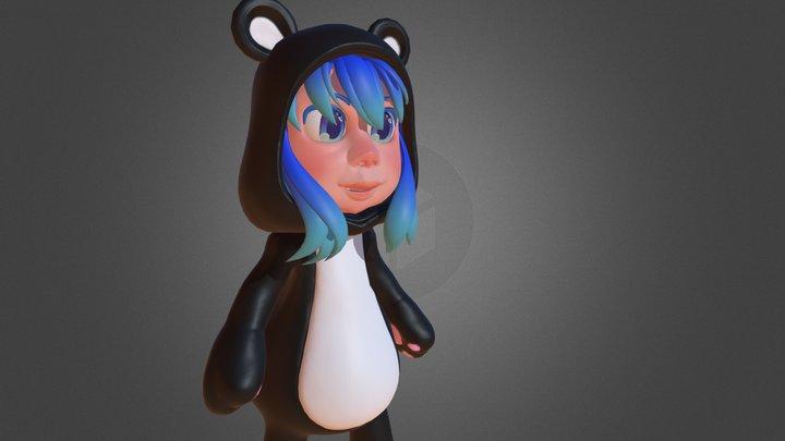 Chibi_04 3D Model