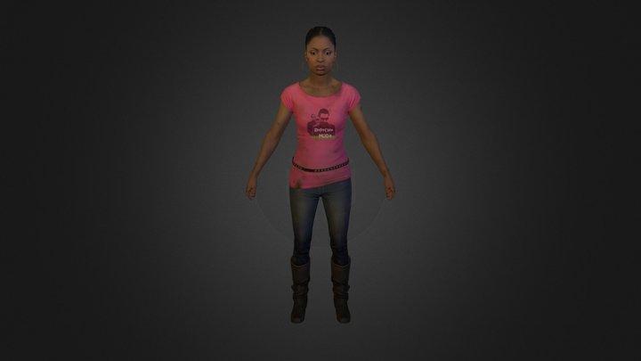 Rochelle 3D Model