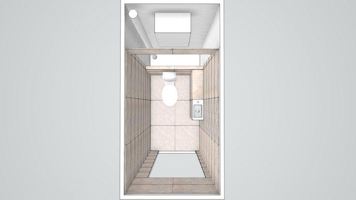 Менделеева Туалет 3D Model