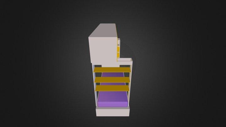 cama_estrella 3D Model