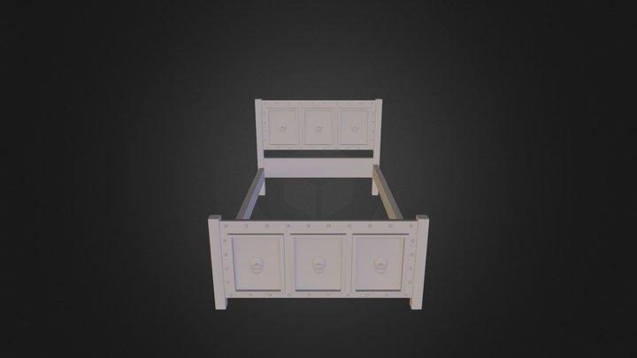 Bed Frame 3D Model