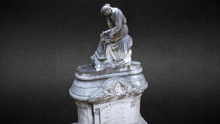 Cemetery Statuary - Johnston 3D Model