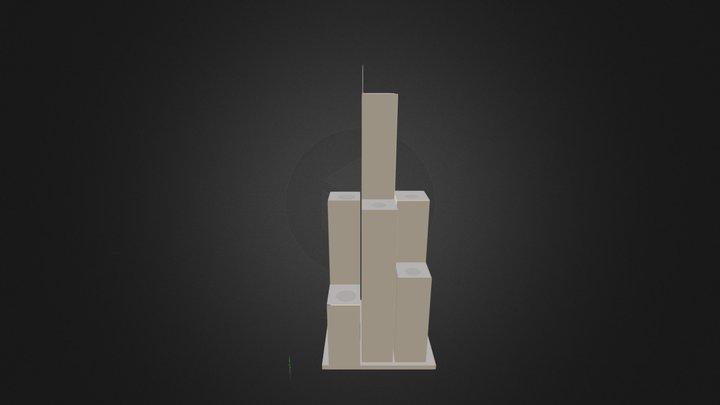 Grade Ciel 3D Model