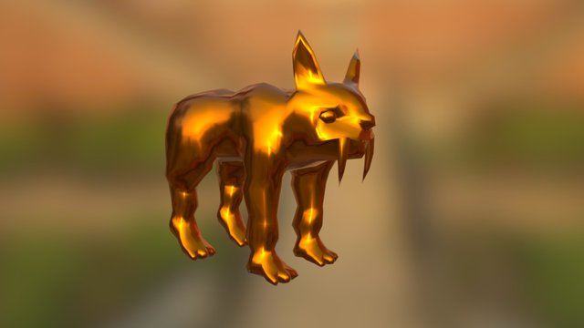 Animated creature 3D Model