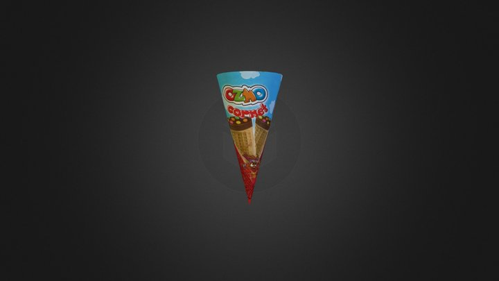 Icecreamcone2 3D Model