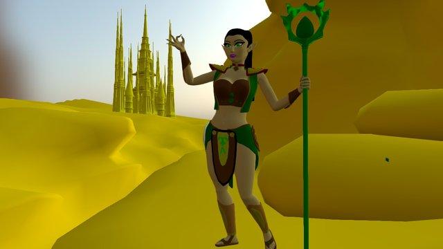 the witch's castle 3D Model