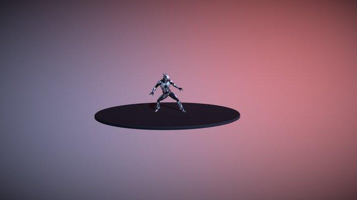 Character01 3D Model