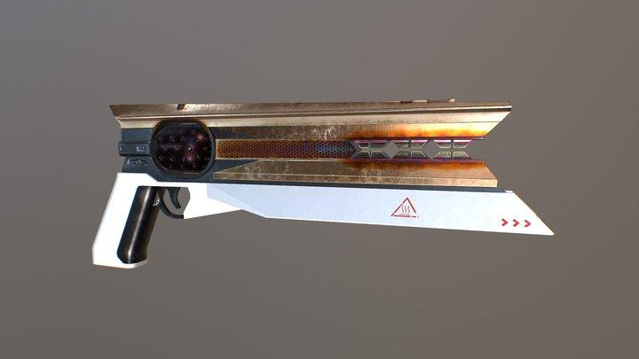Sunshot from Destiny 2 3D Model