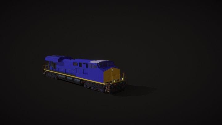 trainEngine 3D Model