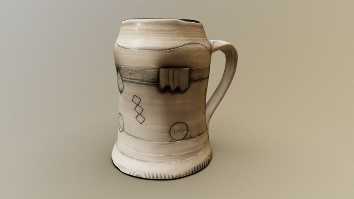 Lighthouse Mug 3D Model