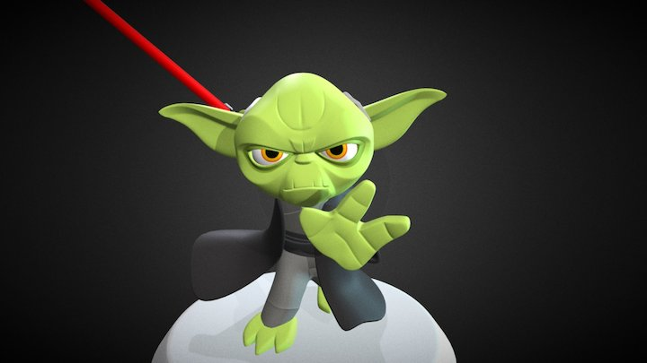 Yoda 3D Model