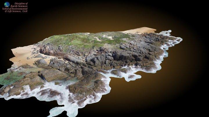 Grey Rocks (Clear Hill Point) 3D Model
