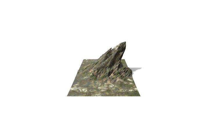 Rock_Green 3D Model