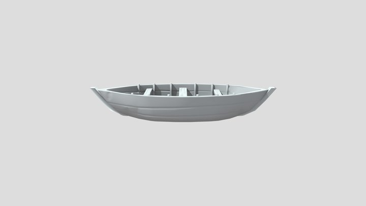 Boat Baking 3D Model