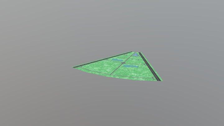 Plane Venus Project 3D Model