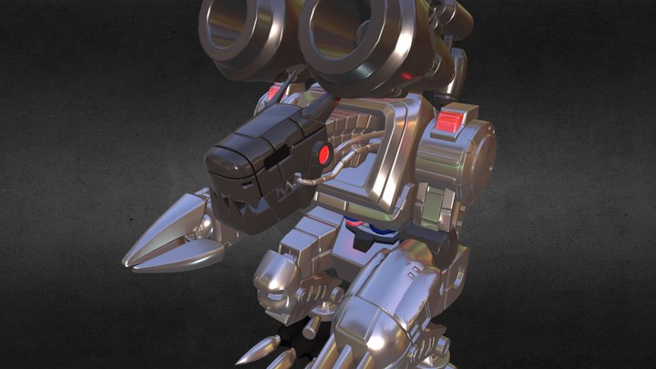 Digimon Mugendramon 3D Model