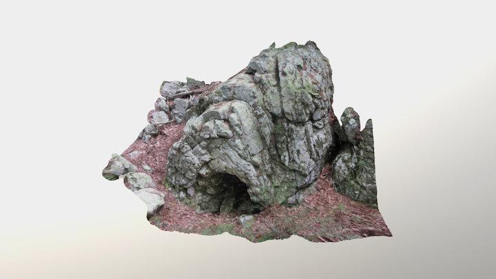 Anticline, Veach Gap 3D Model