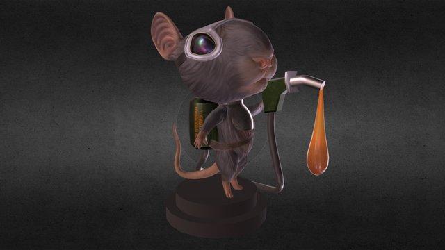 Fuel Rat 3D Model