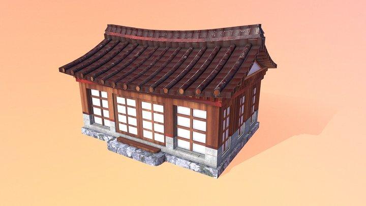 Japanese Abode 3D Model