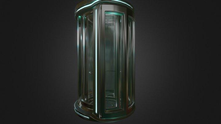 Sci-fi Elevator 3D Model