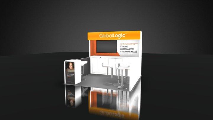 GLOBAL LOGIC 10X10- GRAPHICS 3D Model