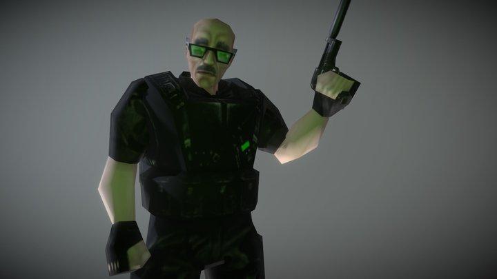 Walter Black Ops 3D Model