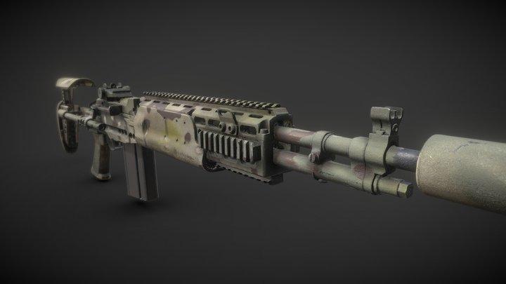 M14 EBR 3D Scan 3D Model