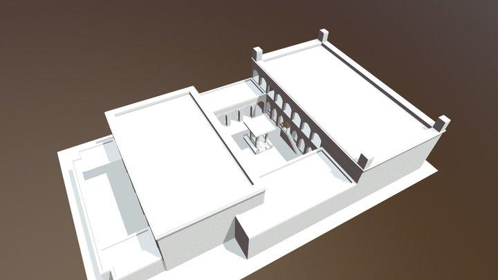 synagogue model in progress 3D Model