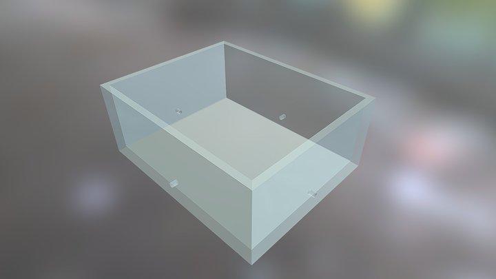 049 09 2019 Glass Box 3D Model