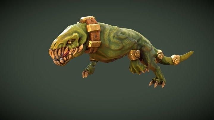 FORCED SHOWDOWN - Beast Enemy 3D Model