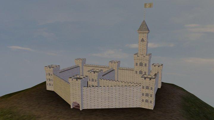 Fantasy Castle 3D Model