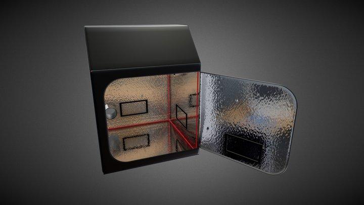 loft box 120x120x160 3D Model